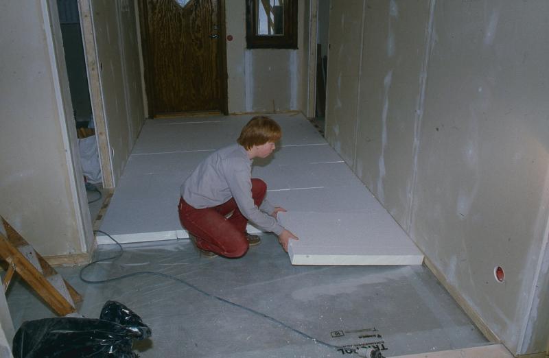 Flytande golv