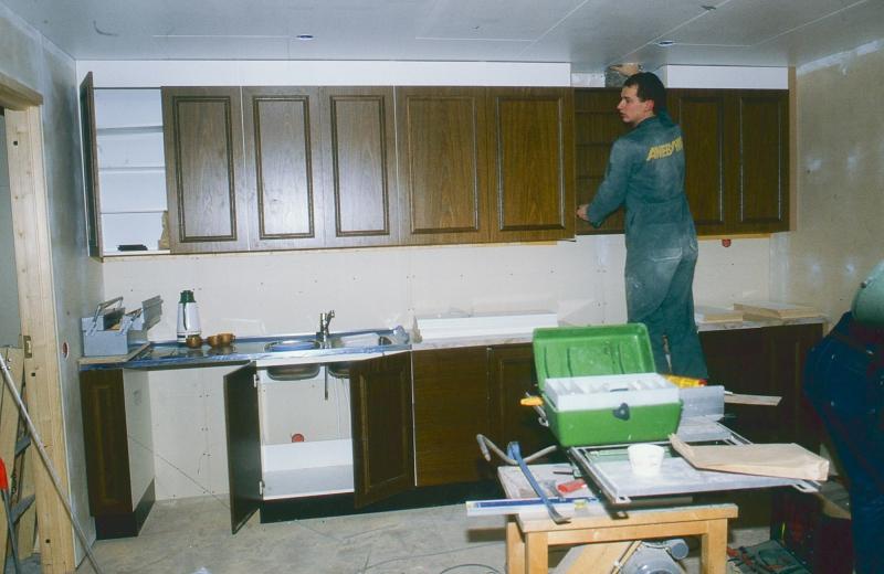 Montering av kök