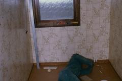 Vinyltapet i badrum