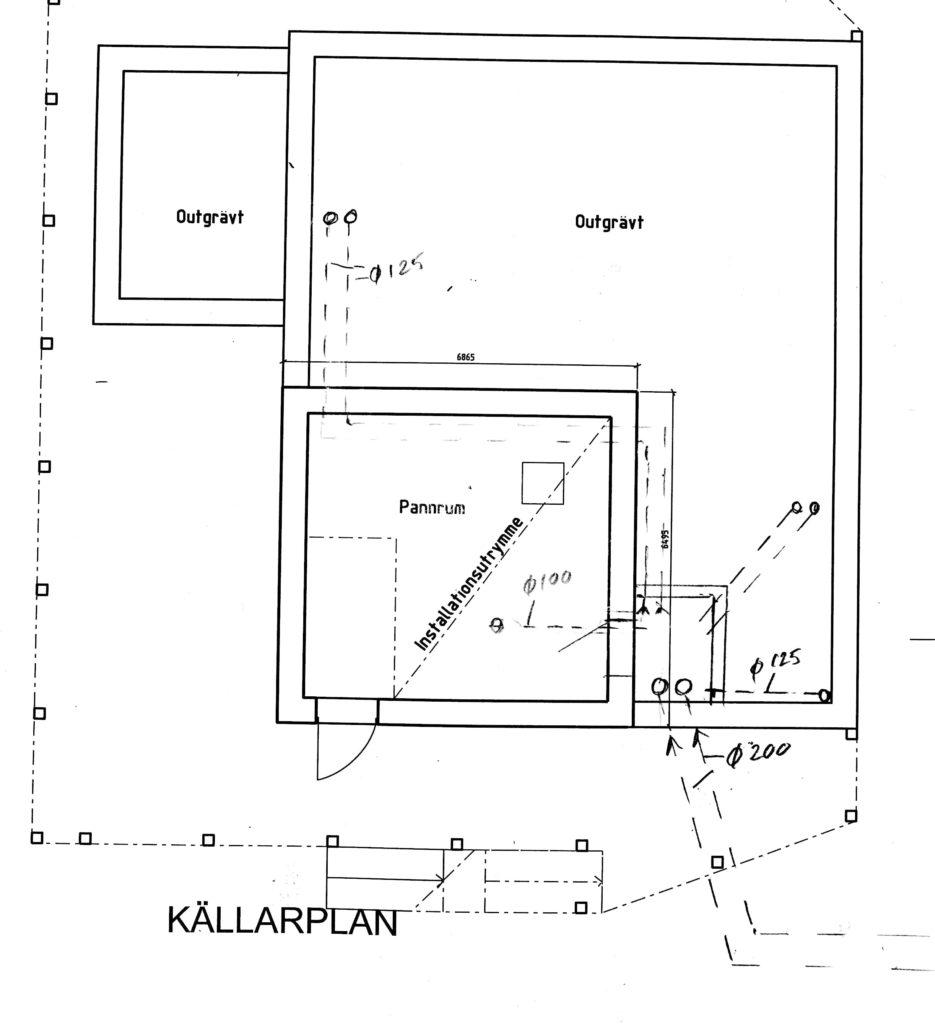 Figur 1 Källarplan